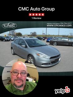 CMC AUTO GROUP  Call Now 254-756-5377 Buy from the Bear 2015 Dodge Dart SXT Body Style	Four-Door Sedan Mileage	43,618 Exterior	SILVER Interior	BLACK Transmission	Automatic Engine	2.4L Drive	Front Wheel Drive Price	$11,999 Stock	128576 VIN	1C3CDFBBXFD128576 Location	Waco, TX Cmcwaco.com  #BuyfromtheBear