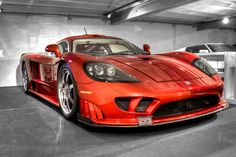 Saleen S7 Twin Turbo - I've seen one of these this color cruising in Coeur d'Alene ID!