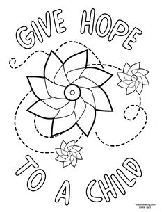 Coloring Contest Marks Family Support Councils National Child Abuse