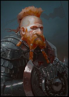 Dwarf Warrior by Redan23.deviantart.com on @DeviantArt