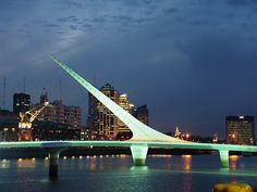 Puerto Madero & el puente de la mujer. Buenos Aires Santiago Calatrava, The Places Youll Go, Places To See, Places Ive Been, Largest Countries, Countries Of The World, Travel Route, Places To Travel, Tango