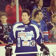 James Neal Operation Hat Trick for Sandy Relief 11.24.12