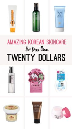 Discover the Life-changing Magic of Korean Skincare, on a budget - Amazing Korean Skincare for less than Twenty Dollars!   Ashley Abroad