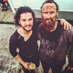 cast, kit harington, and game of thrones image
