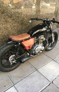 Motorcycle reupholstery vintage