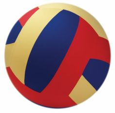 """American Educational YTC-075 Multi-Color Volleyball Cage Ball, 40"""" Diameter by American Educational Products. Save 20 Off!. $55.95. Perfect for large groups of children in any recreational activity. Cage balls have super tough bladders that are resistant to puncture and leakage. The bladder is covered by a heavy duty polyester cover that may be hand washed. Easily inflates with air compressor (not included). 40"""" Diameter. Multi-Color Volleyball Cage Ball."""