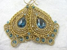 OMG - these Blue Flames earrings from twotightlywound are GORGEOUS!