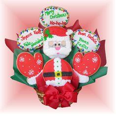 Santa Clause Cookie Bouquet!