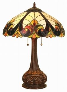Tiffany Glass Lamp by Eva