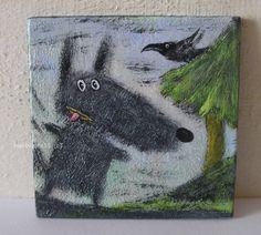 Wolfi hat Angst im Wald !
