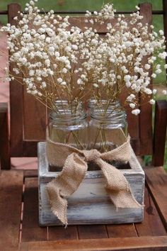 rustic country wedding centerpieces | ... and ideas rustic ranch weddings reception decor mason jar centerpieces