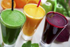 Jugos de desintoxicación: 7 recetas para desincharse - detox juices: 7 recipes to deflate - Sucos detox: 7 receitas para desinchar Healthy Juice Recipes, Healthy Juices, Healthy Smoothies, Healthy Drinks, Smoothie Recipes, Healthy Eating, Cleanse Recipes, Green Smoothies, Morning Smoothies