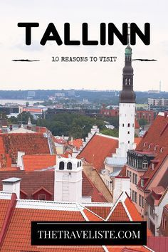 Reasons to visit Tallinn, Estonia. This beautiful medieval capital city has so much to offer, from the red roofs and turrets to delicious pancakes and St Olav's church. Tallinn is the kind of city that will touch your heart with its unique architecture, food, people and streets waiting to be explored. It's the perfect European city break as you can explore the city in just a couple of days.