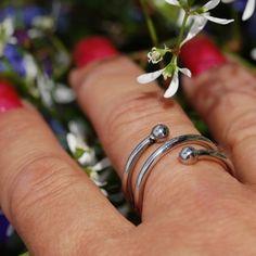 Coal Ring Alice - rostfritt stål
