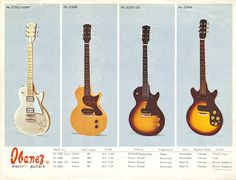 Ibanez Catalog 1975 Oldie Series