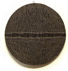Franca Sonnino, Tondo italiano #1, 2000 filo di cotone