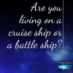 """70 Likes, 7 Comments - Anne McKeown (@2mpower.co) on Instagram: """"Are you aware of how you are living your life? #2mpower #choice #cruise #cruiseship #battle…"""""""