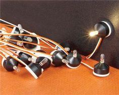 Miniature Peel & Stick Lamps
