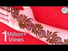 Learn How to Apply Easy Arabic Henna Mehndi like a Professional, Simple Mehendi Design Arabic Style, Best Online Heena Tutorial for Arabic Mehendi, Learn Pro. Arabic Bridal Mehndi Designs, Indian Henna Designs, Finger Henna Designs, Back Hand Mehndi Designs, Latest Mehndi Designs, Simple Mehndi Designs, Mehandi Designs, Henna Tattoo Kit, Lace Tattoo