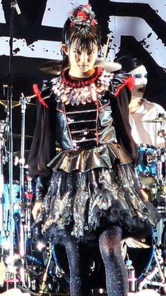 "Su-metal...that glare of hers, ""sigh'"