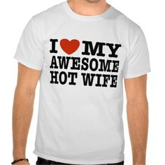 >>>This Deals          I Love My Awesome Hot Wife Tee Shirt           I Love My Awesome Hot Wife Tee Shirt In our offer link above you will seeDiscount Deals          I Love My Awesome Hot Wife Tee Shirt Online Secure Check out Quick and Easy...Cleck Hot Deals >>> http://www.zazzle.com/i_love_my_awesome_hot_wife_tee_shirt-235643106212318237?rf=238627982471231924&zbar=1&tc=terrest