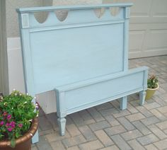 Nantucket Fog Bed by Vintage Paints