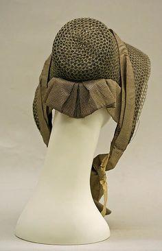 Poke bonnet   American   The Met