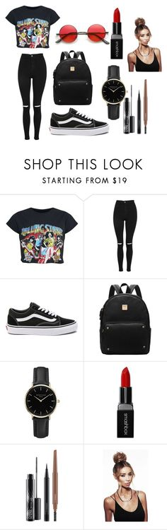 """3"" by kfhfkkb on Polyvore featuring мода, Topshop, Vans, ROSEFIELD, Smashbox и MAC Cosmetics"