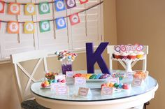 Kate's Rainbow Art Party