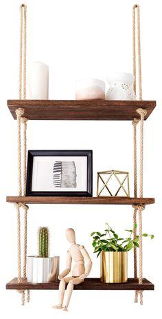 20 best hanging rope shelves images diy ideas for home rope rh pinterest com