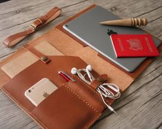 Most up-to-date Pics Saddle Leather MacBook Case 2016 MacBook Pro Sleeve Bags, Personalized MacBook Retina Covers, Custom All Laptops.