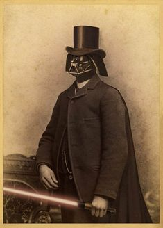 Star Wars - 19th Century by Terry Fan - Dark Vador