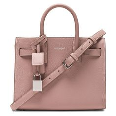 Nano sac de jour by Saint Laurent. Pebbled calfskin leather with bonded  smooth leather lining 38f6d84f7cb