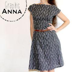 Graphic Anna // Anna dress @By Hand London // Jolies bobines