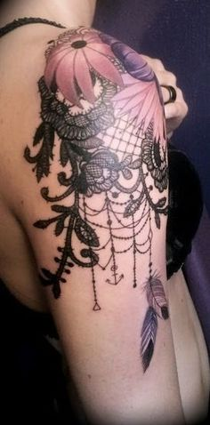 lace tattoo #tattoo design #tattoo patterns