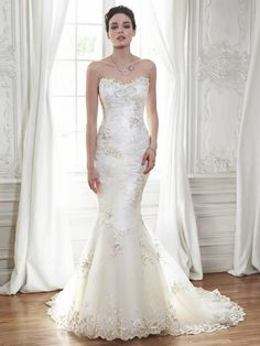 Maggie Sottero Wedding Dresses Collection - MODwedding #coupon code nicesup123 gets 25% off at  www.Provestra.com and www.Skinception.com