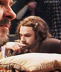 "Aidan pondering the hard questions in life, like ""Why am I so goddamn beautiful?"""