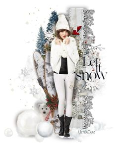 """""""Let it Snow!"""" by ultracake ❤ liked on Polyvore featuring art"""