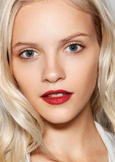 7bdf4b5d88f Red Lip Bridal Wedding Makeup Inspiration Wedding Makeup