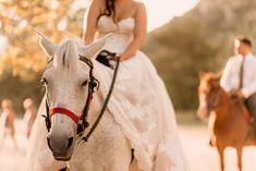 """Φωτογράφιση και βιντεοσκόπηση γάμου από την Everlasting Tales. """"Η δική σας κινηματογραφική στιγμή!""""  Δείτε περισσότερα στο www.GamosPortal.gr!  #weddingphotography #weddingphotoshooting Horses, Animals, Animales, Animaux, Animal, Animais, Horse"""