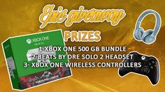 #Win an Xbox One console, Beats by Dre SOLO 2 Headset, Xbox One Wireless Controller or a TShirt  https://wn.nr/rVrFRF