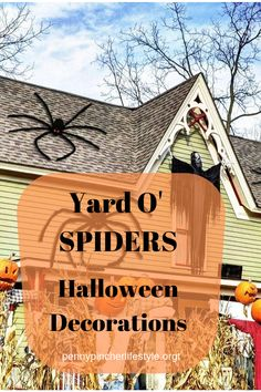 Halloween Giant Spider Webs yard decorations. DIY Halloween Decorations For Outdoor And Home Decor. Explore these DIY decoration and Halloween Ideas for 2019! #halloween #halloweendecorations #outdoordecor #spider Halloween Cartoons, Creepy Halloween, Outdoor Halloween, Halloween Treats, Halloween Party, Halloween Spider Decorations, Yard Decorations, Diy Decoration, Giant Spider