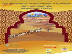 #Salon International du #Tourisme du 18 au 20 Février 2016 à #Oran au centre des convention (Le Méridien). #Algérie