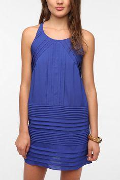 Chandi & Lia Silky Pleated Frock Dress  Urban Oufitters  $79