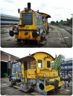 Locomotor SIK NS 228 in dienst van de SSN