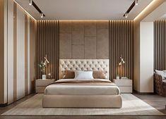 Modern bedroom design - 4 Principles for Creating the Perfect Bedroom Modern Luxury Bedroom, Luxury Bedroom Design, Bedroom Closet Design, Bedroom Furniture Design, Luxurious Bedrooms, Luxury Bedrooms, Contemporary Bedroom, Bedroom Designs, Hotel Bedrooms