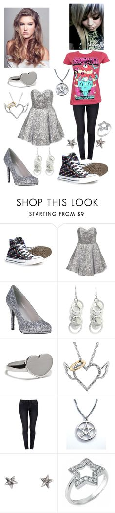 """sisters from other misters"" by kimberly-biersack-monroe ❤ liked on Polyvore featuring Converse, Topshop, Stuart Weitzman, Oasis, Cynthia Rowley, Royal Spades, momocreatura and Fantasy Jewelry Box"