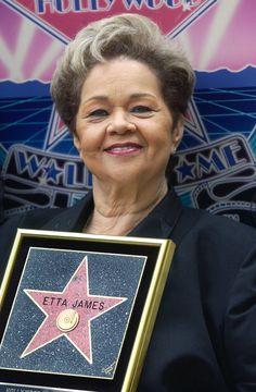 Etta James, beauty and soul.