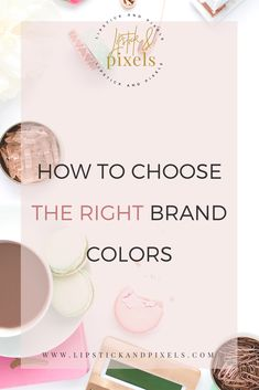 How to choose brand colors – Ashley Gilbert How to choose brand colors How to choose the right brand colors for your business! branding tips, branding tutorials, brand your business, website branding, choose brand colors via Lipstick and Pixels Personal Branding, Branding Your Business, Creative Business, Business Tips, Online Business, Business Money, Craft Business, Digital Marketing Strategy, Content Marketing