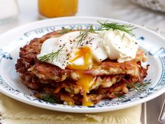 Crispy, salty and filling, these delicious bacon and potato fritters make a tasty breakfast, lunch or dinner dish, especially when topped with a dollop of sour cream, fresh herbs and runny poached eggs.